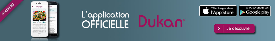 applucation mobile Dukan